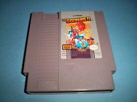 Goonies 2 NES cart