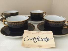 4 sets of trios excellent condition with certificate