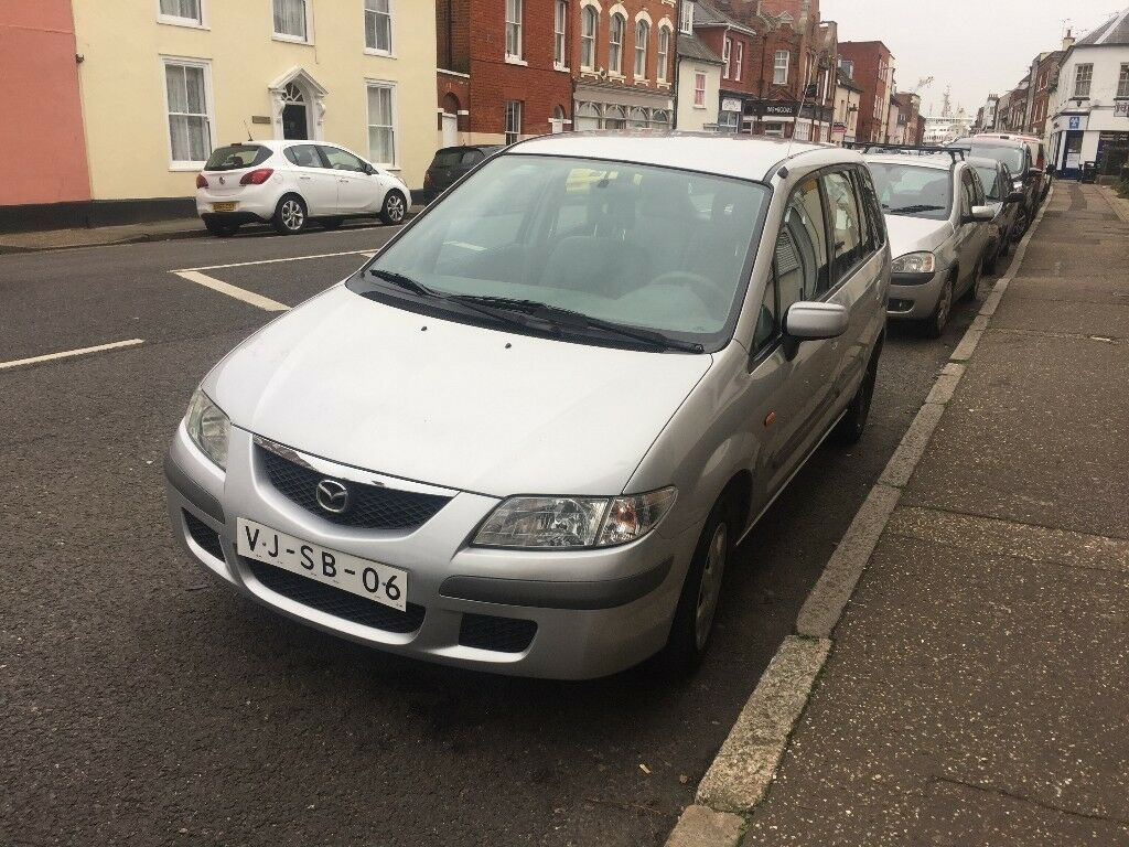 LEFT HAND DRIVE MAZDA PREMACY, DRIVES PERFECTLY,ENGINE & MECHANICS,PAPER SORTED.CALL MARC