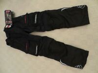Oxford Continental 2 textile motorcycle trousers. New & unused with tags size M / 34