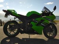 Kawasaki ZX6R Ninja 2008. Excellent Condition. Low Mileage 14k. Lady Owner. Scorpion Exhaust.