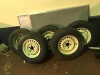 5x Vw Campervan tyres