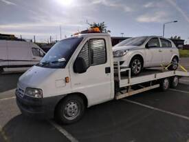 2003 Citreon Relay Tri Axle Recovery Truck Sell or Swap!