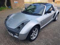 smart roadster low mileage not fortwo or fiesta