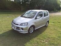 2001 DAIHATSU YRV 1.3 F-SPEED 5 DOOR HATCHBACK AUTOMATIC, PETROL, 52K, 1 YEARS MOT