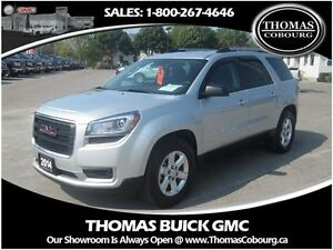 2014 GMC Acadia SLE2 - QUAD BUCKETS, POWER LIFTGATE