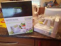 Brand new vegetable spiralizer