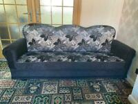 3 Seater Fabric Settee