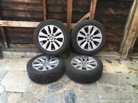 BMW 1 series alloys wheels