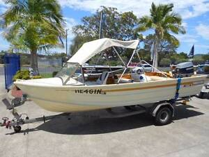 Quintrex Seaman 4.9 metre Forster Great Lakes Area Preview