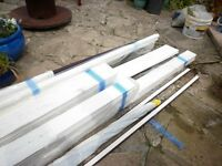 Brand new in plastic sheeting, window surrounds and sills.