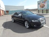 *** AUDI S5 FSI QUATTRO FSH RECENT SERVICE BELTS DONE NEW MOT LOW MILEAGE IMMACULATE COND IN/OUT