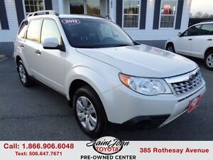 2012 Subaru Forester 2.5X Convenience Package $129.73 BIWEEKLY!!