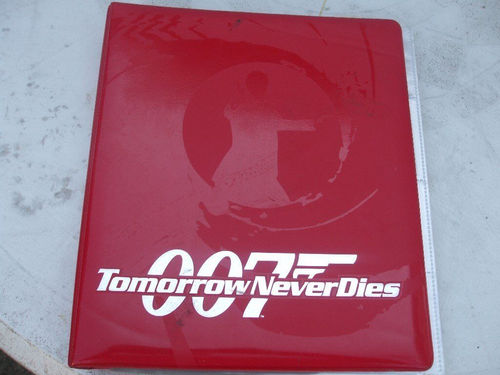 "007 JAMES BOND ""TOMORROW NEVER DIES"" ALBUMin Caister on Sea, NorfolkGumtree - 007 James Bond ""Tomorrow Never dies"" Card Album. over 100 cards all in good condition"
