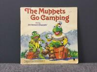 Rare vintage retro 1980s 80s THE MUPPETS GO CAMPING BOOK 1981 Kermit Fozzie Bear Children's SDHC