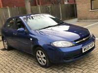 2009 CHEVROLET LACETTI 1.6 SX AUTOMATIC PETROL 5 DOOR HATCHBACK 5 SEAT CHEAP INSURANCE N CORSA ASTRA