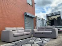 Grey DFS Sofas 3&2 delivery 🚚 sofa suite couch furniture
