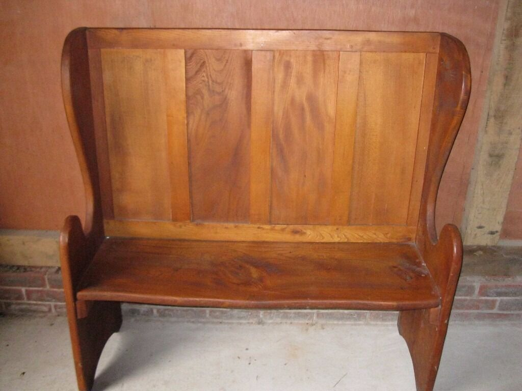 4ft Monks Bench Tall Pew Settle Delivery Possible Church Chapel Chairs For Sale In