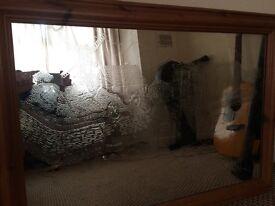 Gypsey caravan embossed mirror