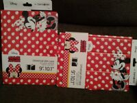 "Brand New Samsonite Minnie Rocks the Dots Universal slim case fits tablets and iPads 9"" up to 10.1"""