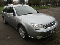 2006 FORD MONDEO 2.0 GHIA X TDCI 130 ESTATE FULL HISTORY 2 FORMER KEEPSMOTED SAT NAV TOW BAR PX SWAP