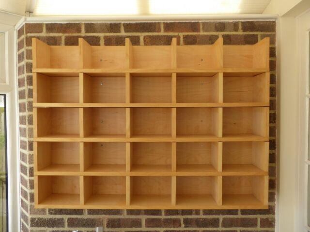 5 Ikea Light Pine Cd Dvd Shelves Wall Mounted In Lewes East Sus Gumtree