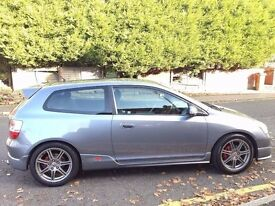 "HONDA CIVIC 1.6 VTEC SPORT TYPE R,HPI CLEAR,TOUCH SCREEN MULTIMEDIA,17""ALLOY,USB,AUX,1 YEAR MOT,A/C"