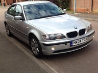BMW 3 Series Saloon 04 E46 2.0 318i SE 4dr Immaculate Bodywork Superb Runner
