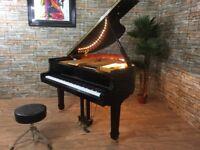 BRAND NEW - STEINHOVEN SG148 - HIGH GLOSS BLACK BABY GRAND PIANO