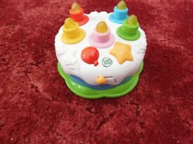 Leapfrog Counting candles birthday cake £5