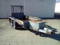 Ifor Williams GX84 Plant/Mini Digger Trailer 8 foot x 4 foot