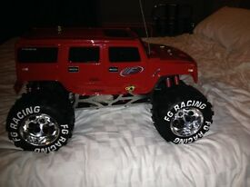 FG Monster Hummer 2WD 1/6th (Petrol)
