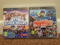 PS3 F1 Race Stars & Modnation Racers
