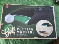 Putting machine
