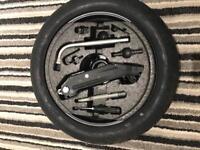 Genuine VW golf space saver spare wheel kit