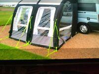 Kampa motor rally air pro 260l campervan awning