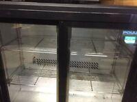 Back bar fridge