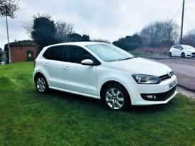 VOLKSWAGEN POLO 1.4 MATCH SE, Huge Spec, Looks and drives stunning, MOT April 2019 (white) 2012
