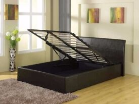 New GFW End Lift Ottoman Storage bed 3FT Single bed