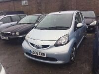 DIESEL 2006 TOYOTA AYGO 1398 cc D4D IN VGCONDITION CHEAP ROAD TAX VERY ECONOMICAL DRIVES LIKE NEW