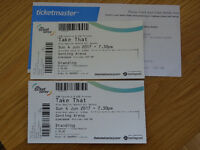 2 standing Take That tickets for Sunday 4 June 2017 at Genting Arena Birmingham