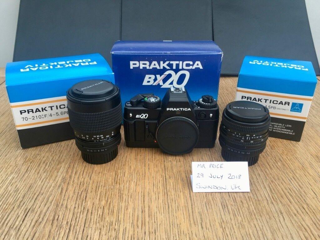 Immacuate praktica bx mm camera mm f lens