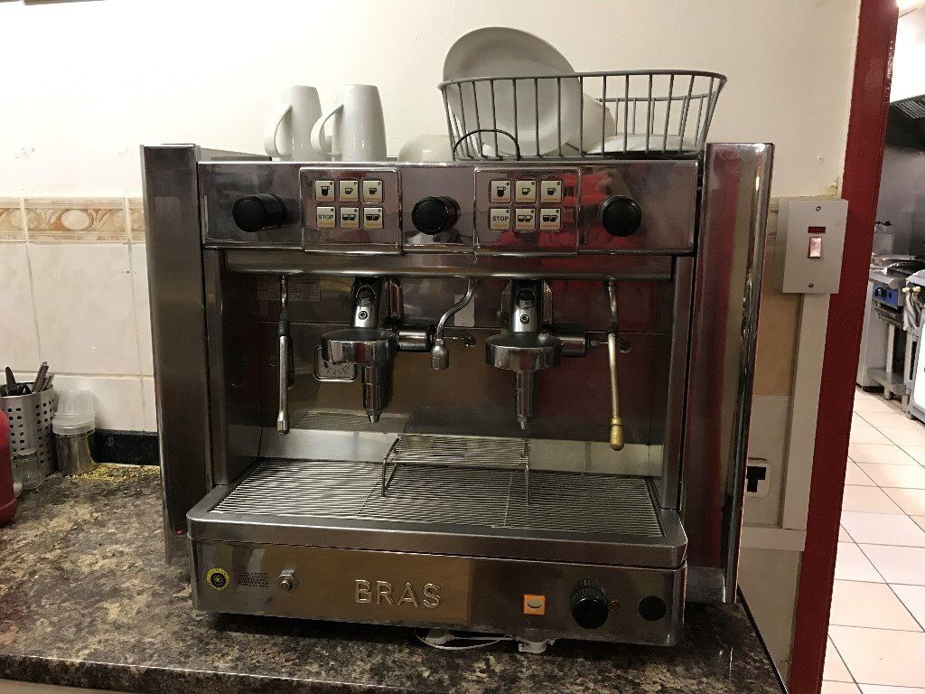 BRASILIA GRADISCA COMMERCIAL COFFE MACHINE TAKEAWAY RESTAURANT CAFE BREAKFAST