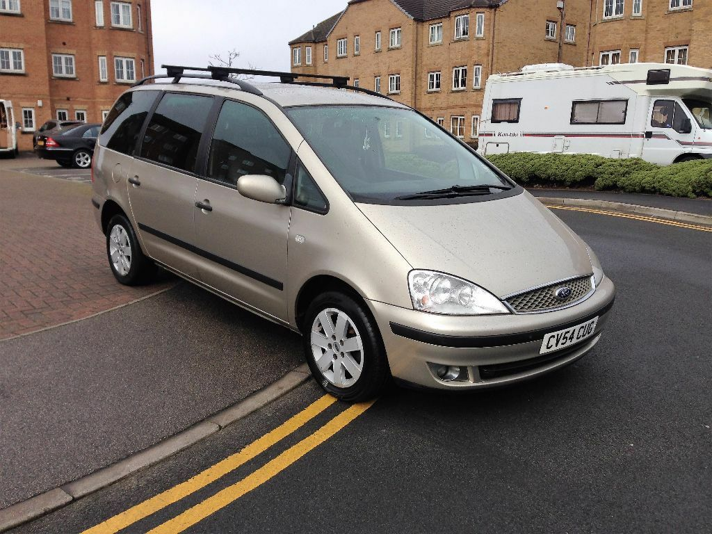 Ford galaxy 1 9 tdi zetec 7 seater 2004 54 plate full mot