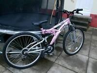 Girls bike by trax apollo