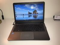 """ASUS Laptop E403SA Brushed Silver 14"""" Good Condition Boxed"""