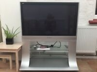 TV Panasonic Viera 42in with integrated stand. Full working order.