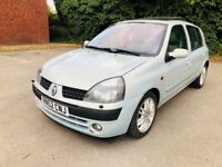Excellent Renault Clio Initiale, Automatic, Special Edition, Very Low 53000 Miles,F.S.H, Full MOT