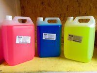 Caravan wash/cleaner chemical toilet blue/pink 15 litres (abbey lunar bailey Adria fleetwood)