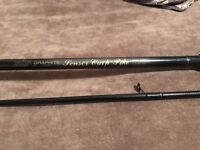 Daiwa Graphite Sensor Carp Pike Fishing Rod 12ft 2.75 TC - Fantastic Condition